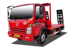 大运奥普力3550轴距平板运输车
