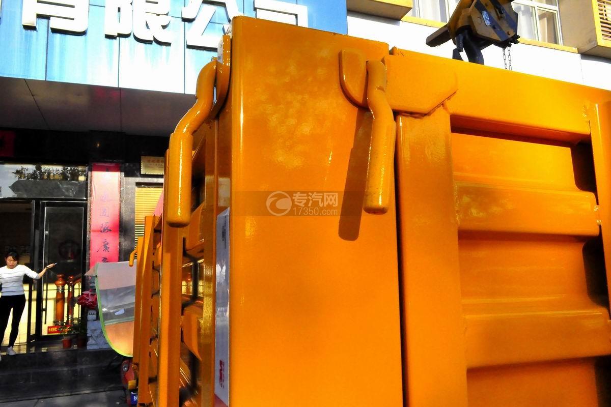 东风多利卡徐工3.2吨直臂随车吊栓紧装置