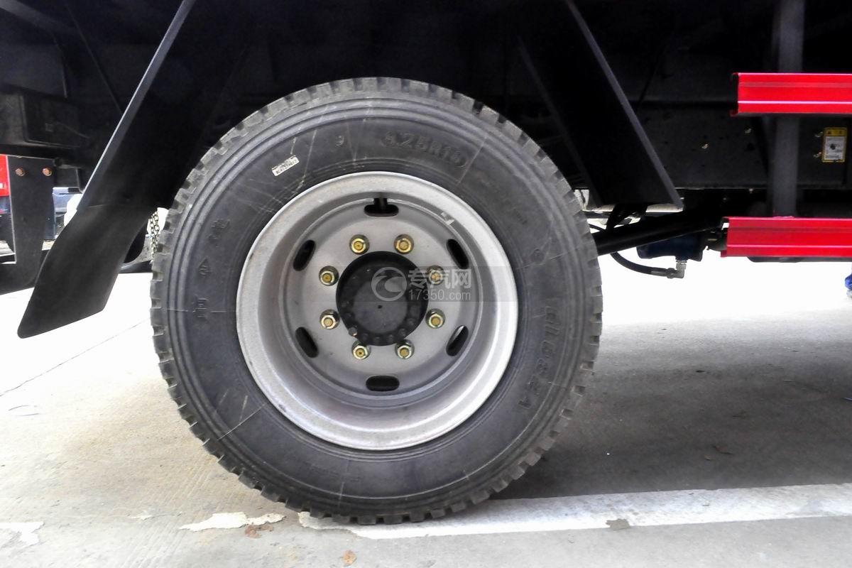 大运奥普力5吨徐工折臂随车吊轮胎