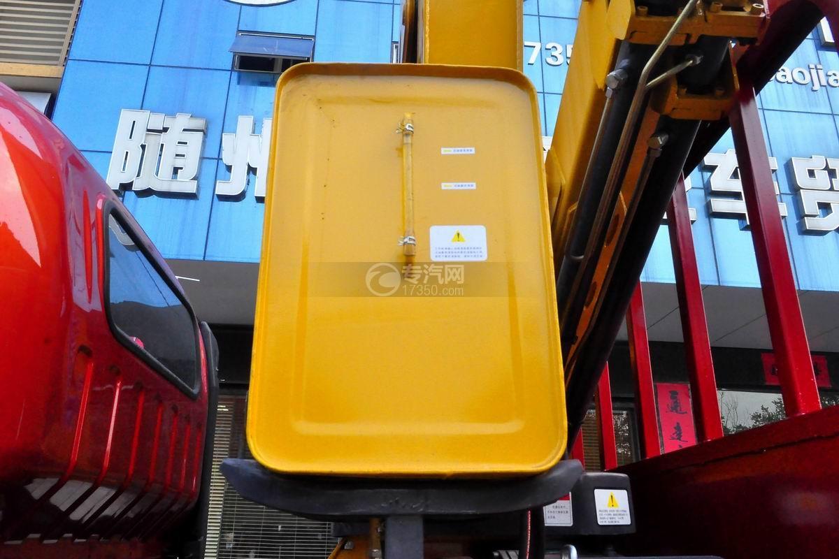 大运奥普力5吨徐工折臂随车吊液压油箱