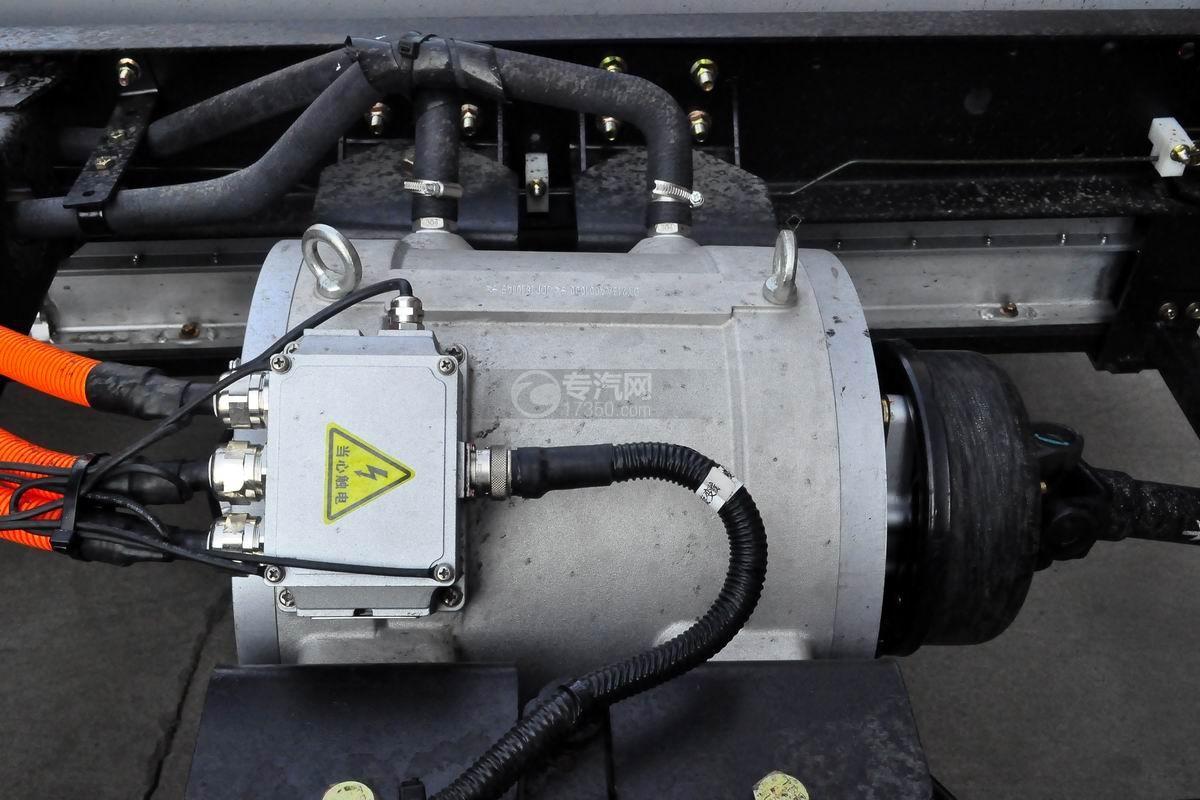 成都大运电动冷藏车细节