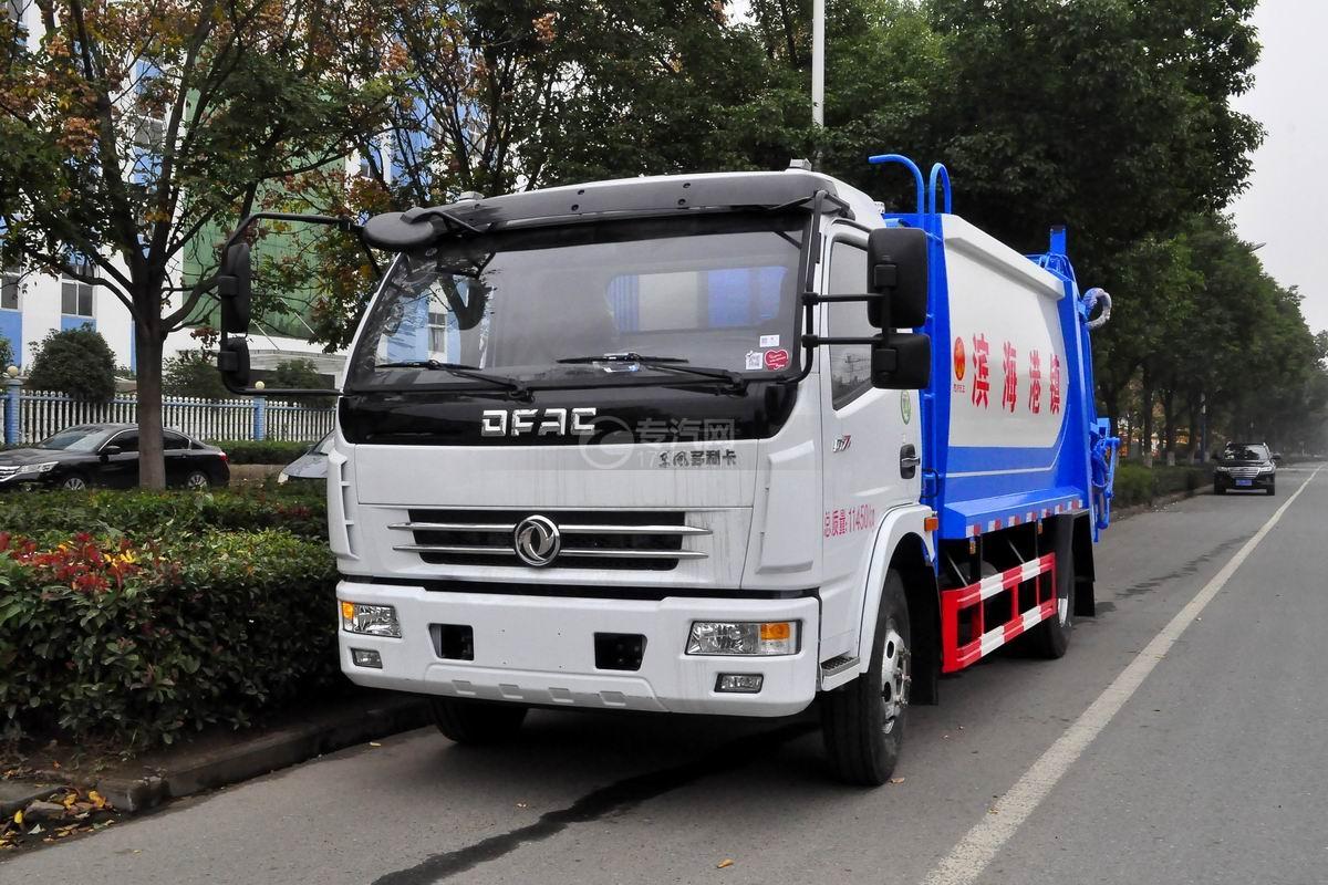 东风多利卡D7压缩式垃圾车图片