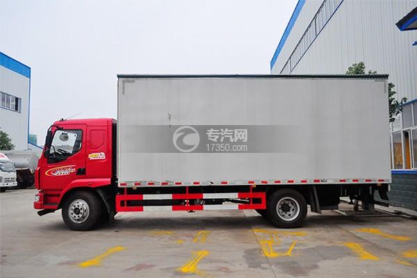 东风柳汽乘龙M3舞台车左侧图