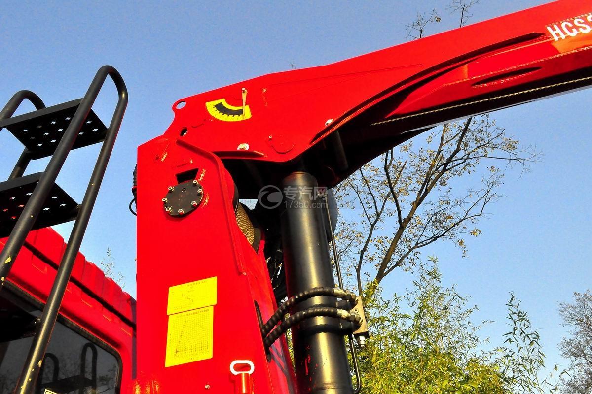 东风T5宏昌天马8吨直臂随车吊液压油缸