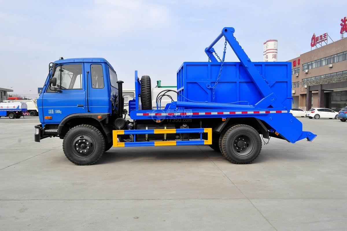 东风145摆臂式垃圾车侧面图