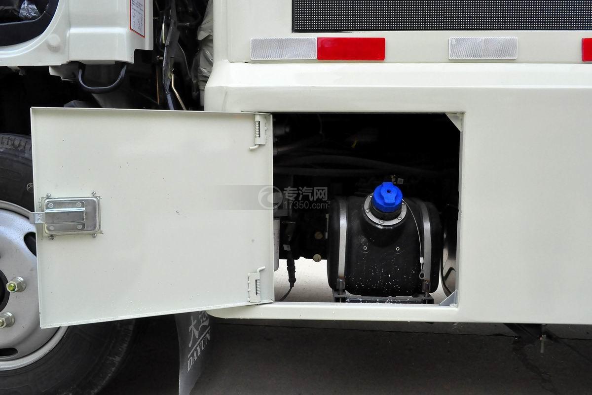 大运奥普力LED广告车尿素罐
