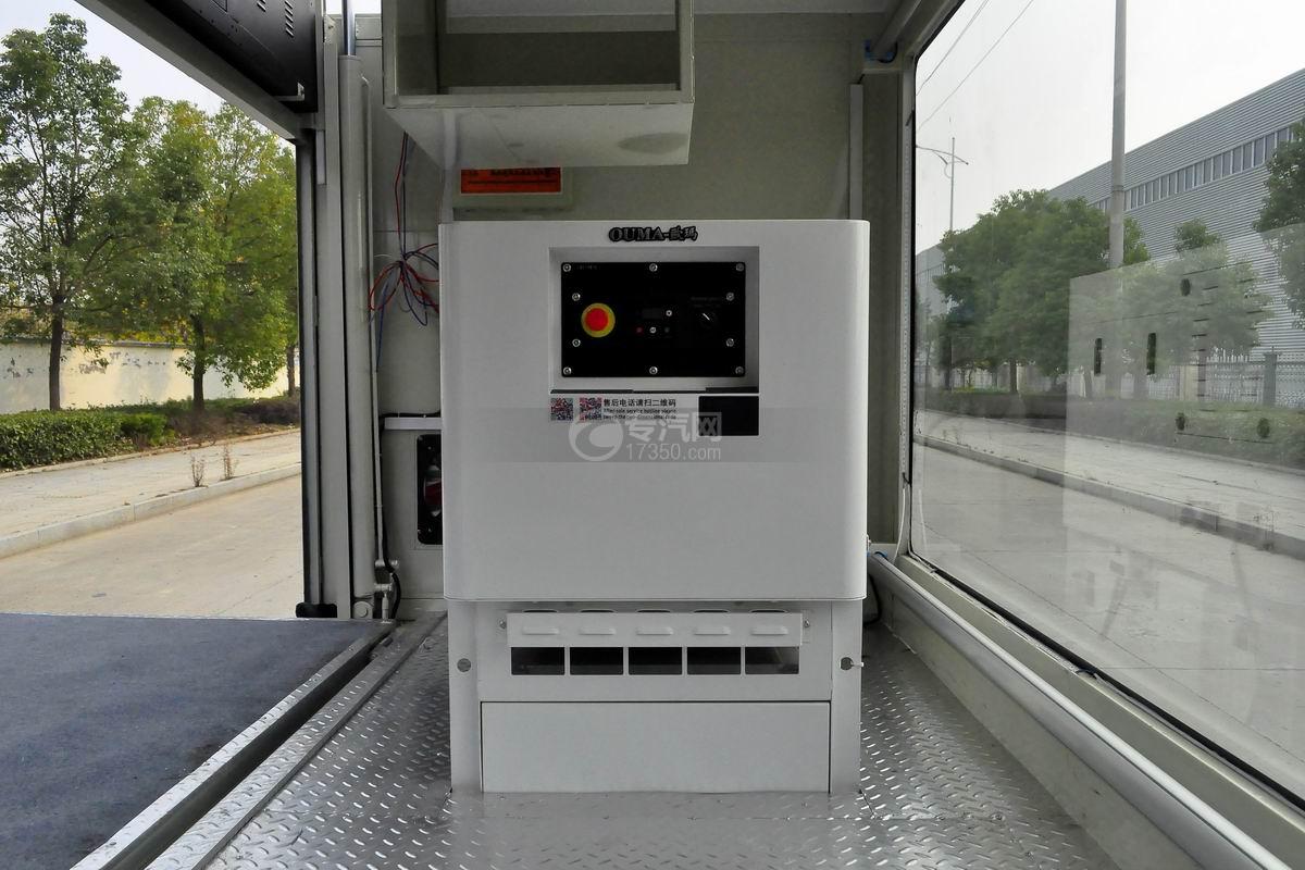 大运奥普力LED广告车发电机