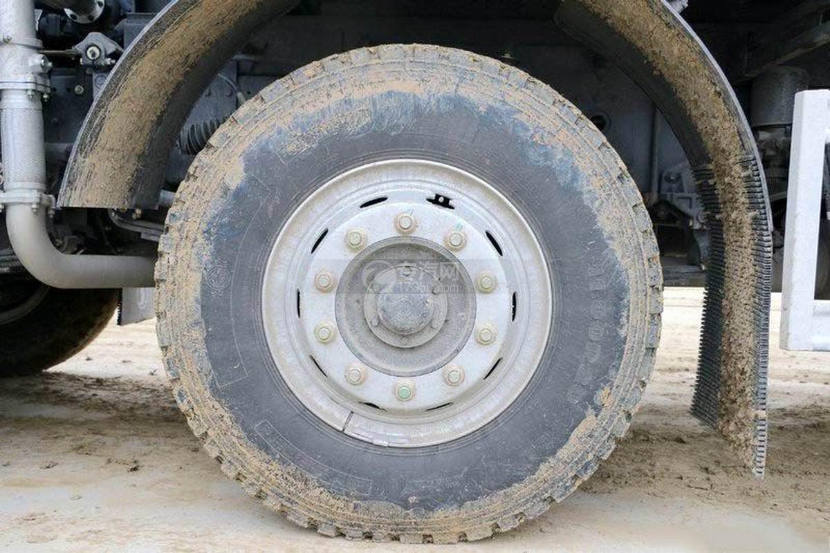 陜汽軒德X6前四后八6米自卸車輪胎