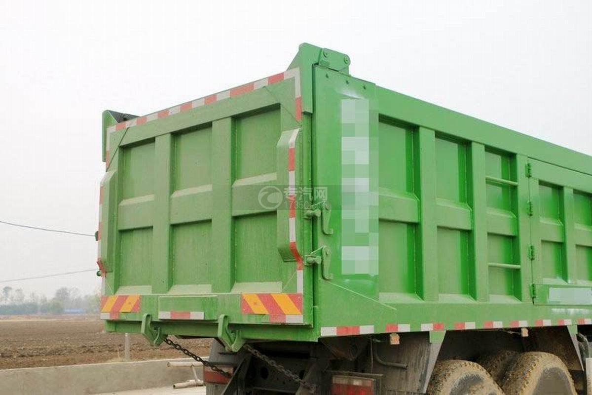 陜汽軒德X6前四后八6米自卸車上裝細節