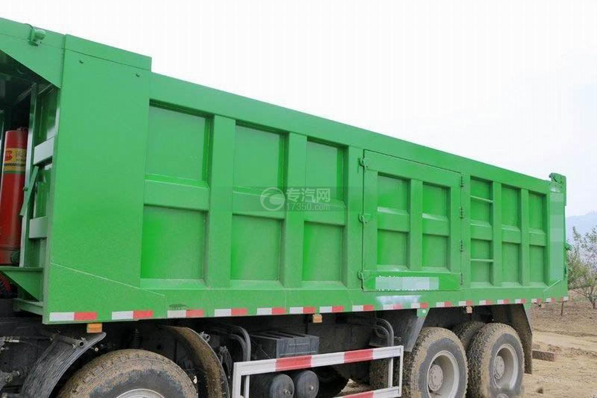 陜汽軒德X6前四后八6米自卸車上裝箱體