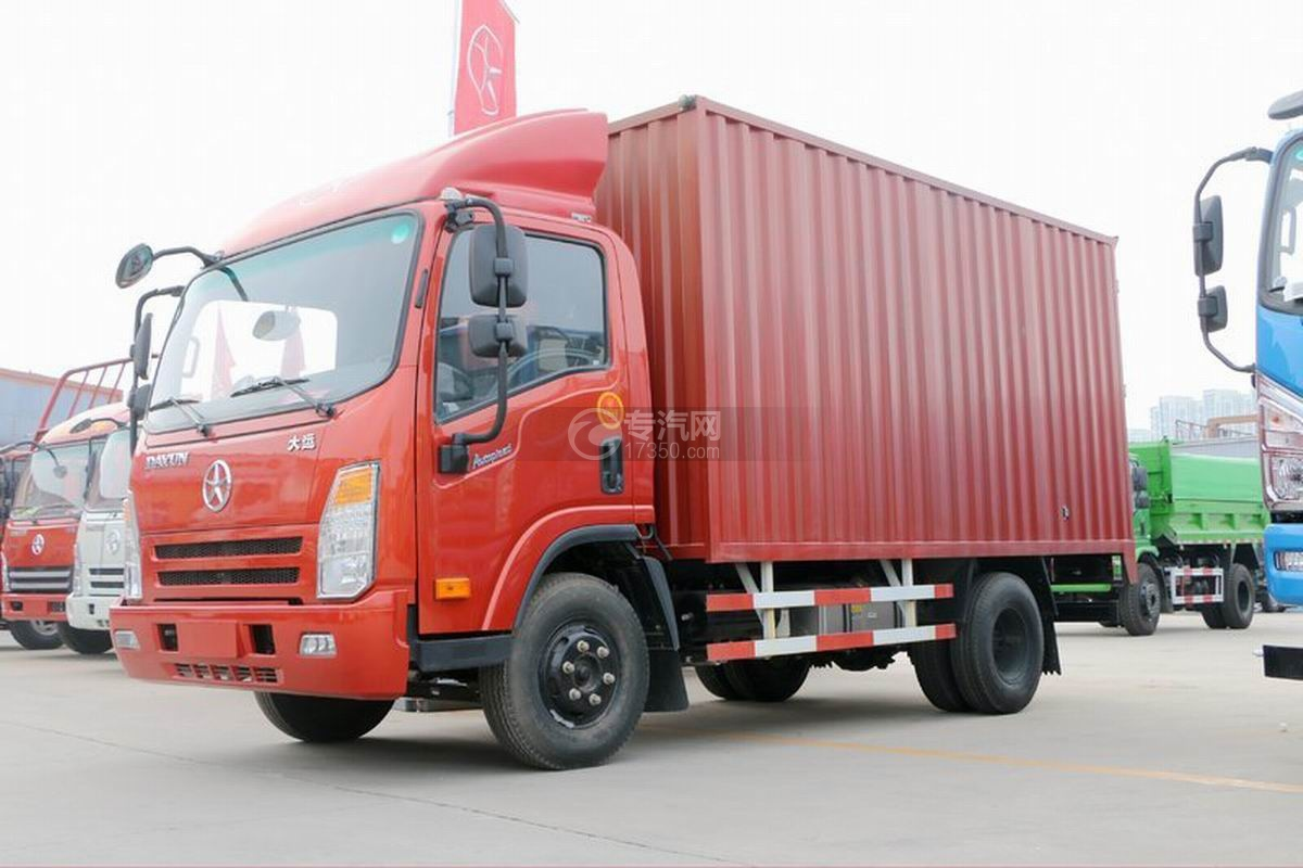大运奥普力4.18米厢式货车图片