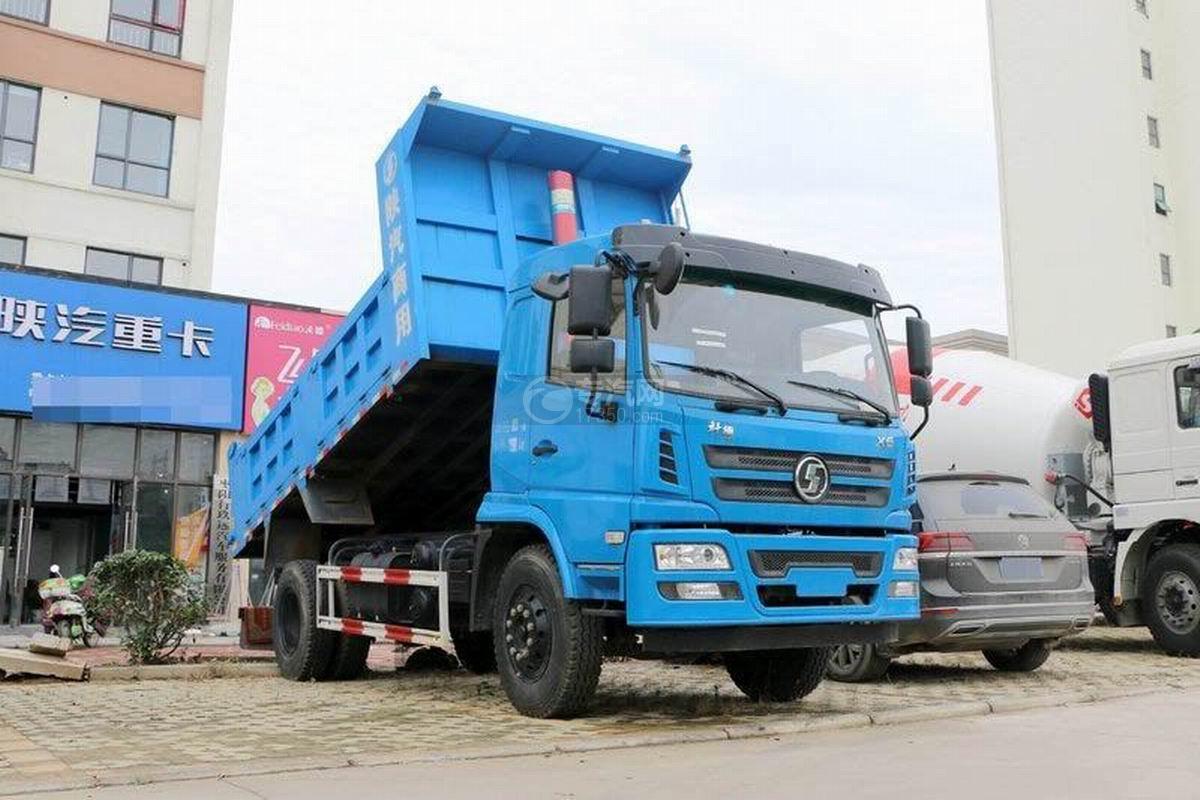 陕汽轩德X6单桥4.5米自卸车图片
