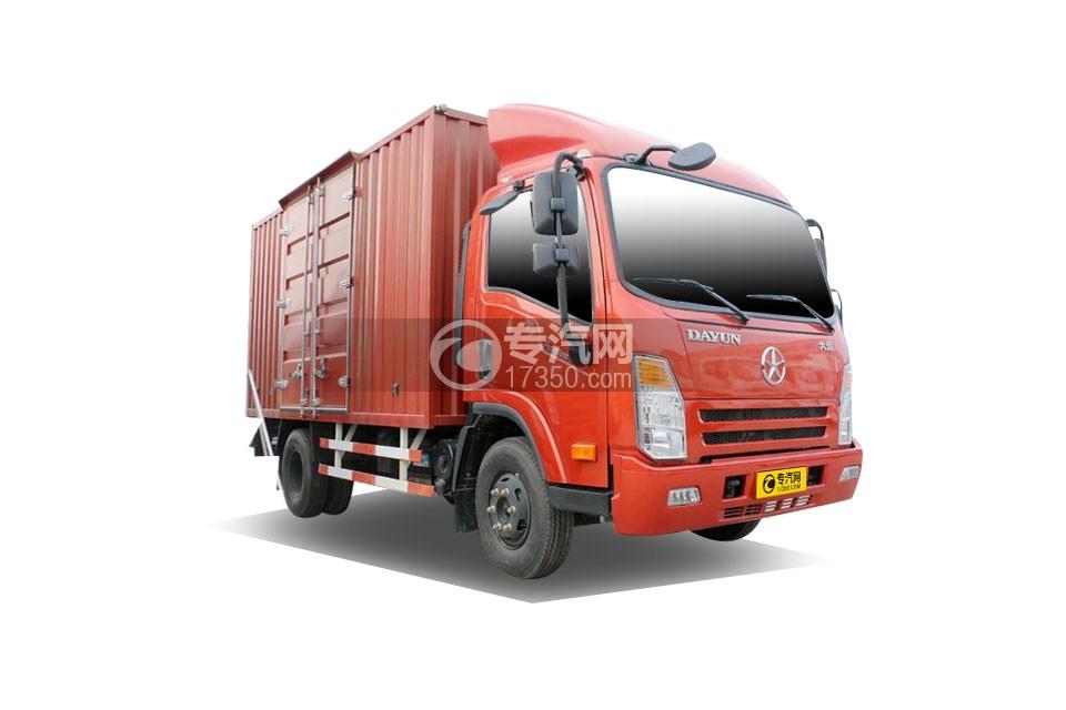 大运奥普力4.18米厢式货车