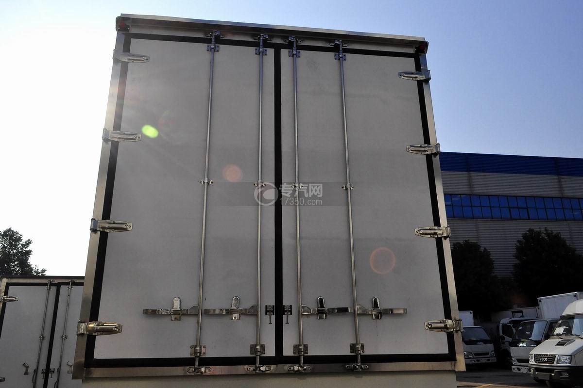 福田欧马可S5厢式运输车后厢门