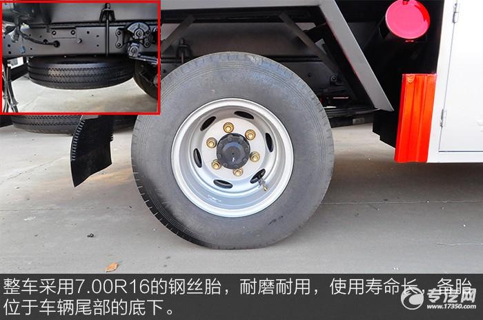 解放虎VN 5.1方加油车轮胎