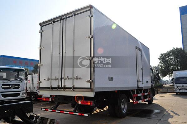 福田欧马可S5厢式运输车右后45度图