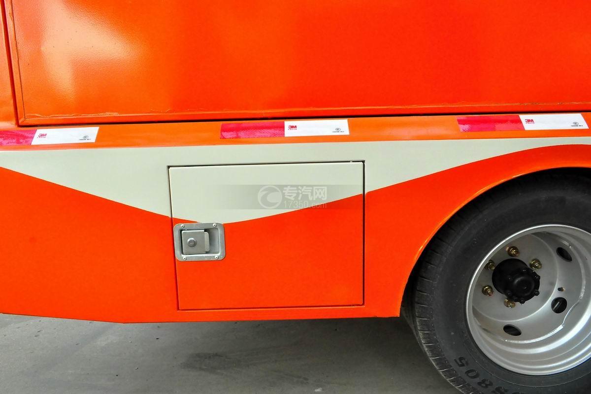福田驭菱VQ2 LED广告宣传车外观