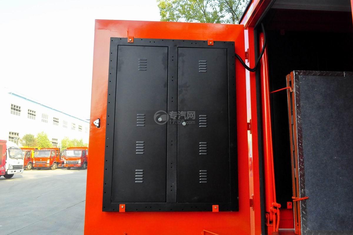 福田驭菱VQ2 LED广告宣传车上装铁柜