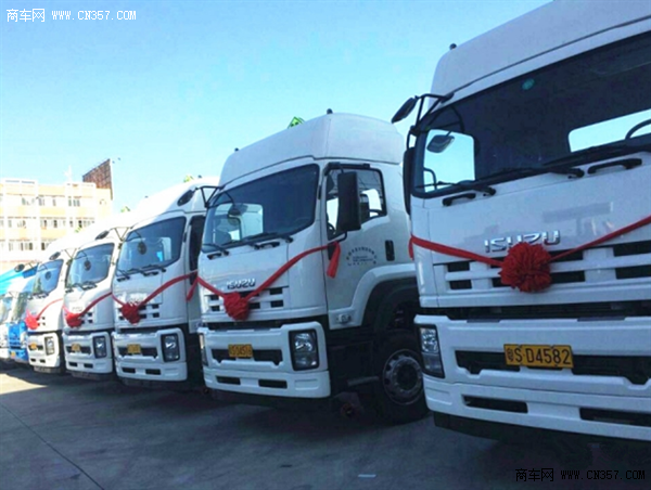 10辆庆铃VC46重卡危化品运输车 交付用户