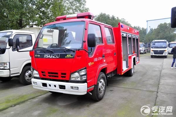 专汽网教你如何区分消防车与消防洒水车
