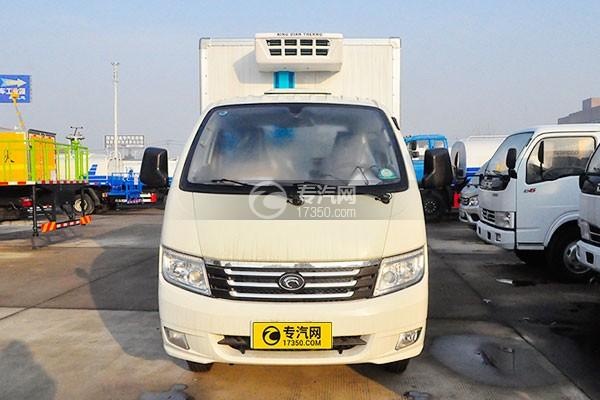 福田宝瑞K1冷藏车正前图