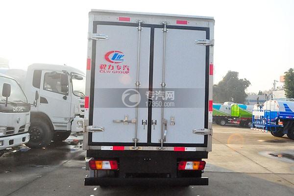福田宝瑞K1冷藏车正后图