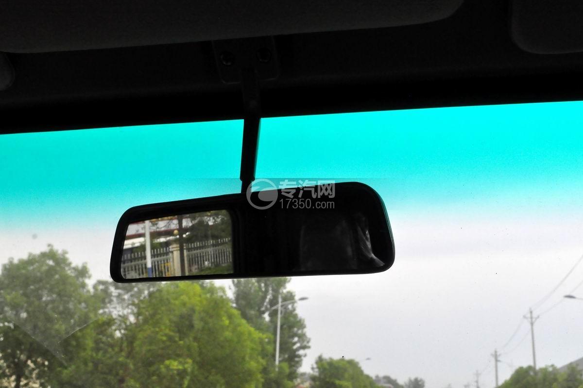 大运奥普力黄牌平板运输车内部后视镜