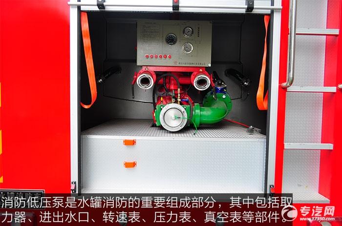 东风153消防车消防低压泵