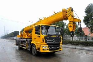 陜汽軒德6系12噸汽車起重機圖片