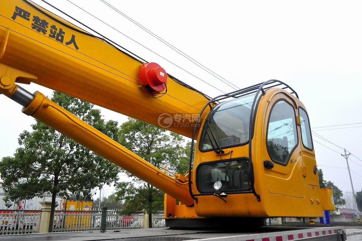 陕汽轩德6系12吨汽车起重机吊机