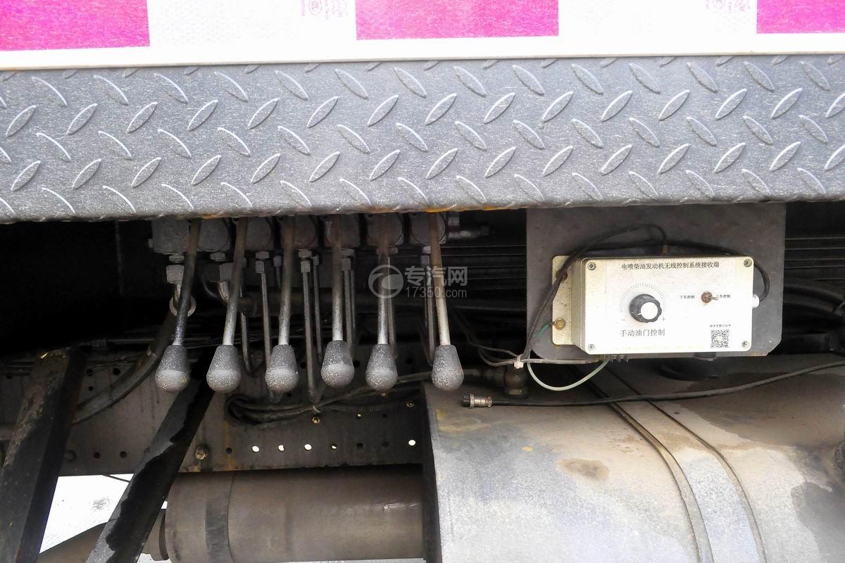陕汽轩德6系12吨汽车起重机操作杆