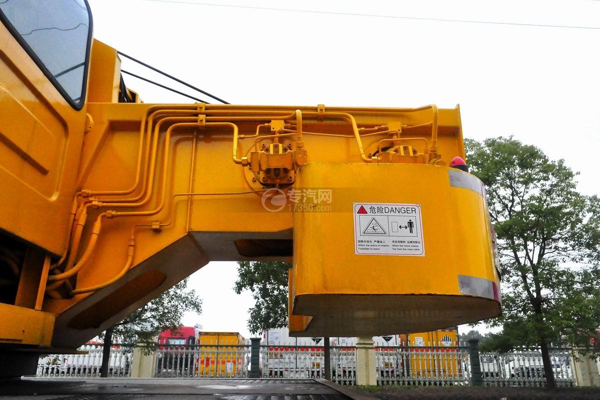陕汽轩德6系12吨汽车起重机吊机细节