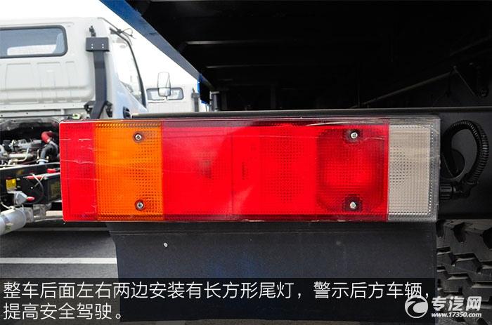 东风153小三轴徐工12吨直臂随车吊尾灯