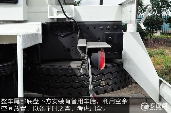 东风神宇御虎3.47方搅拌车备用车胎