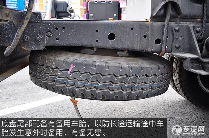 江淮帅铃2运油车钢丝轮胎