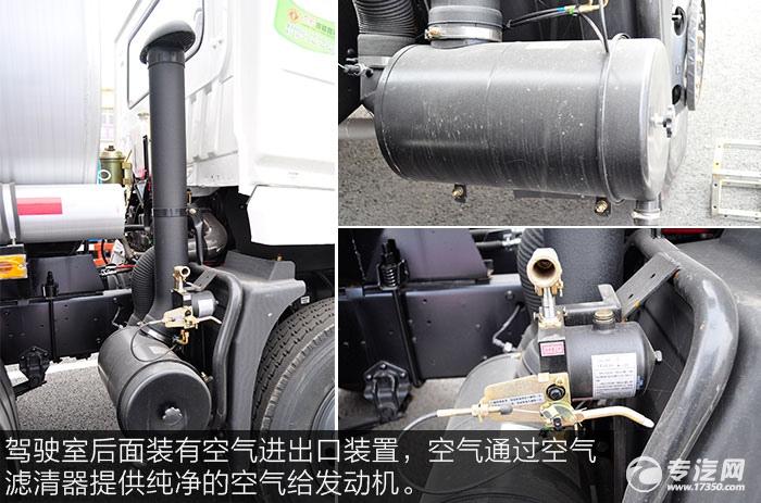 东风特商小三轴油罐车空气滤清器
