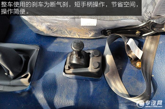 东风平头九米教练车断气刹
