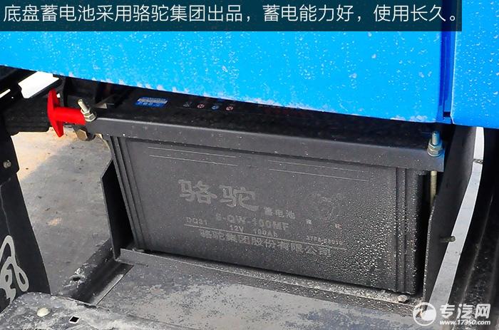 东风尖头九米教练车蓄电池