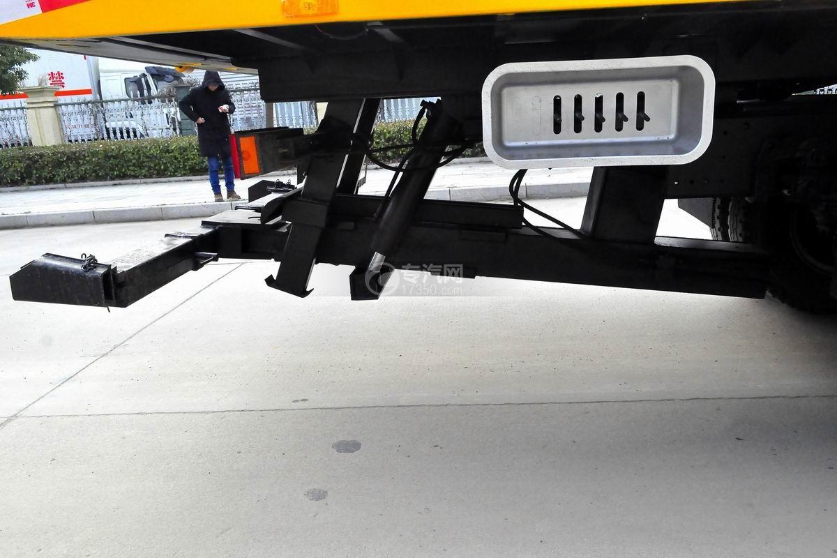 陕汽轩德X6一拖二平板澳门威尼斯人平台网址液压油缸