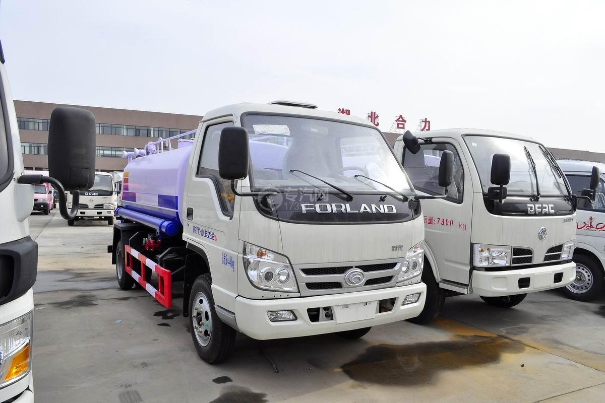 福田时代小卡之星国五2方洒水车图片