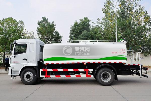 陕汽轩德X6单桥11.24吨洒水车左侧图