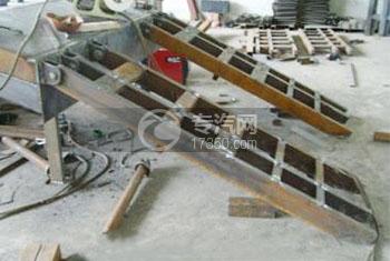 平板车液压爬梯/爬梯总成/平板运输车配件