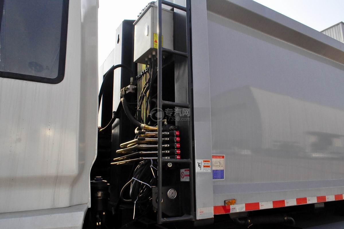 东风锦程12至14方压缩式垃圾车上装细节