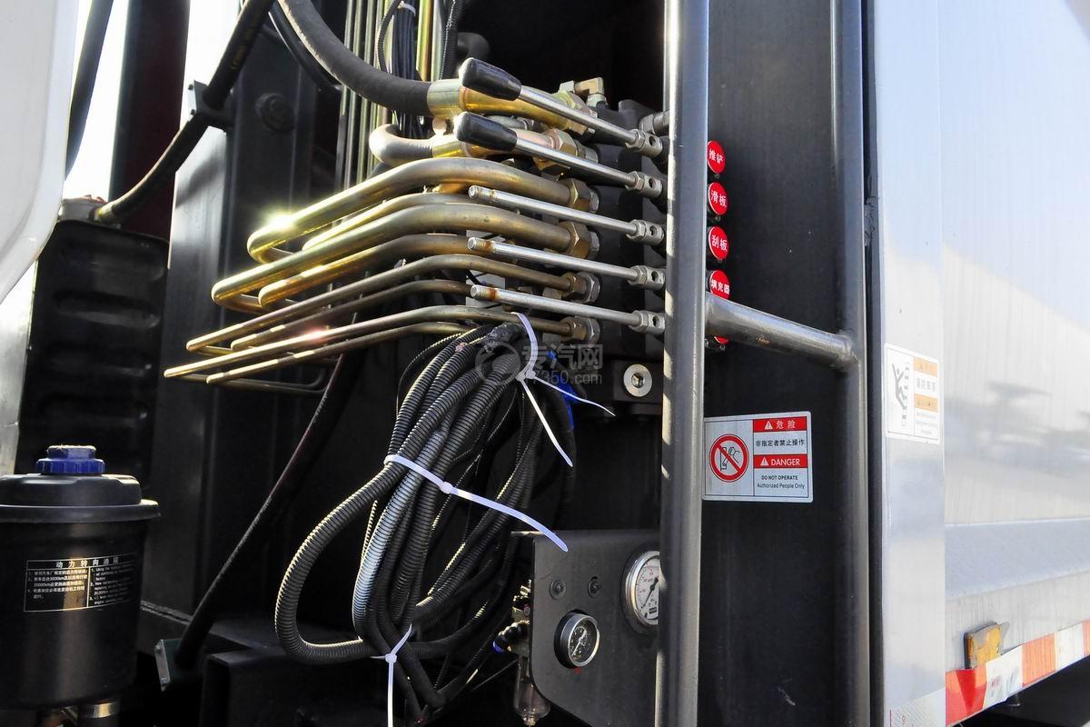 东风锦程12至14方压缩式垃圾车上装操作按钮