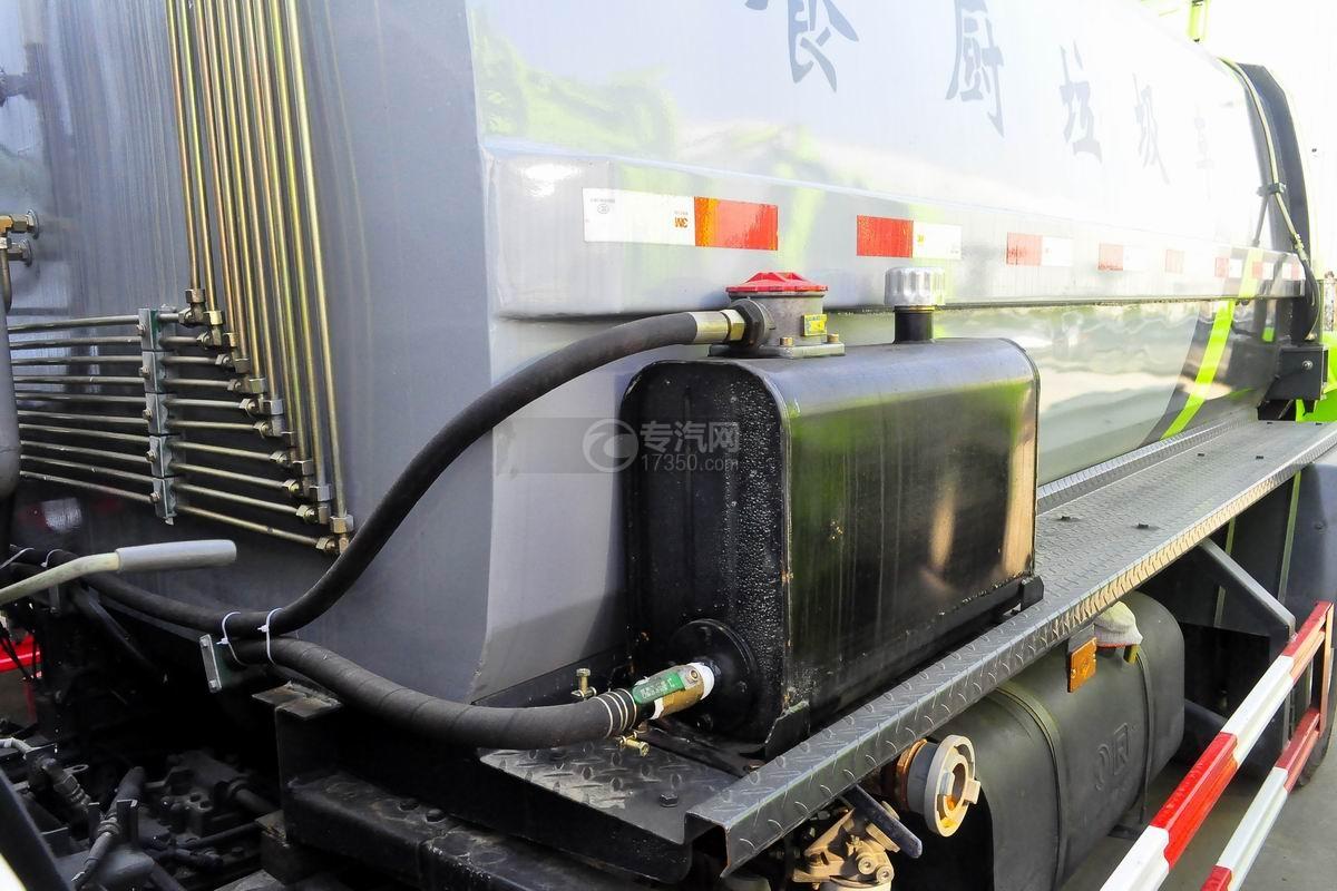 东风御虎单桥餐厨式垃圾车液压油箱