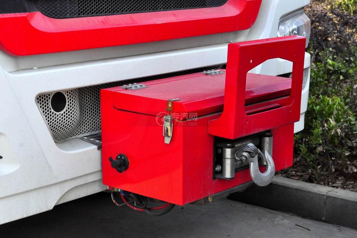 重汽豪沃单桥抢险救援消防车上装细节