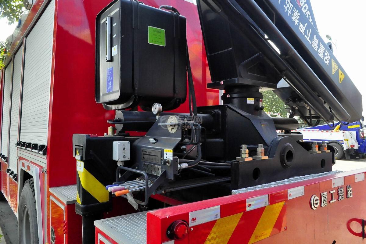 重汽豪沃单桥抢险救援消防车上装操作按钮