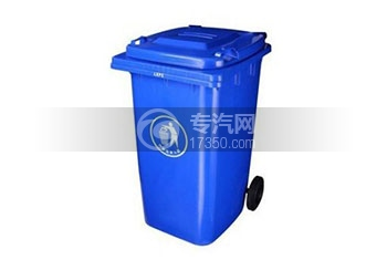 120L环卫垃圾桶/垃圾车配件/120升塑胶垃圾桶