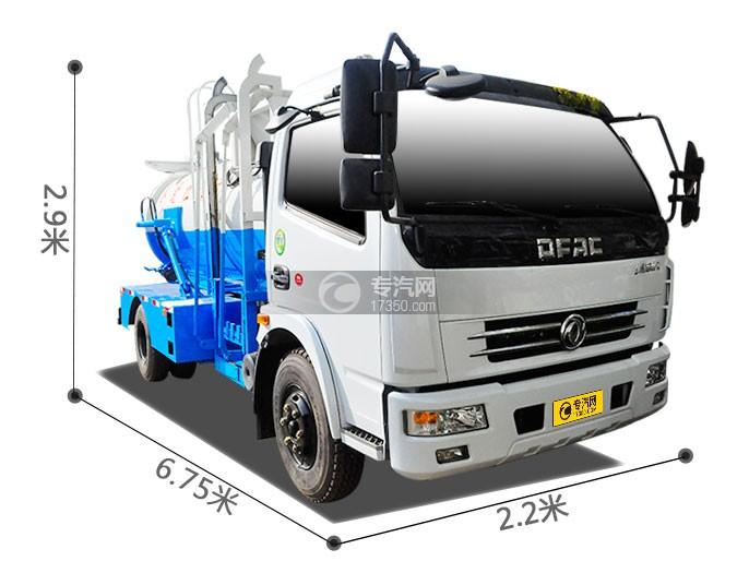 东风大多利卡餐厨式垃圾车尺寸图