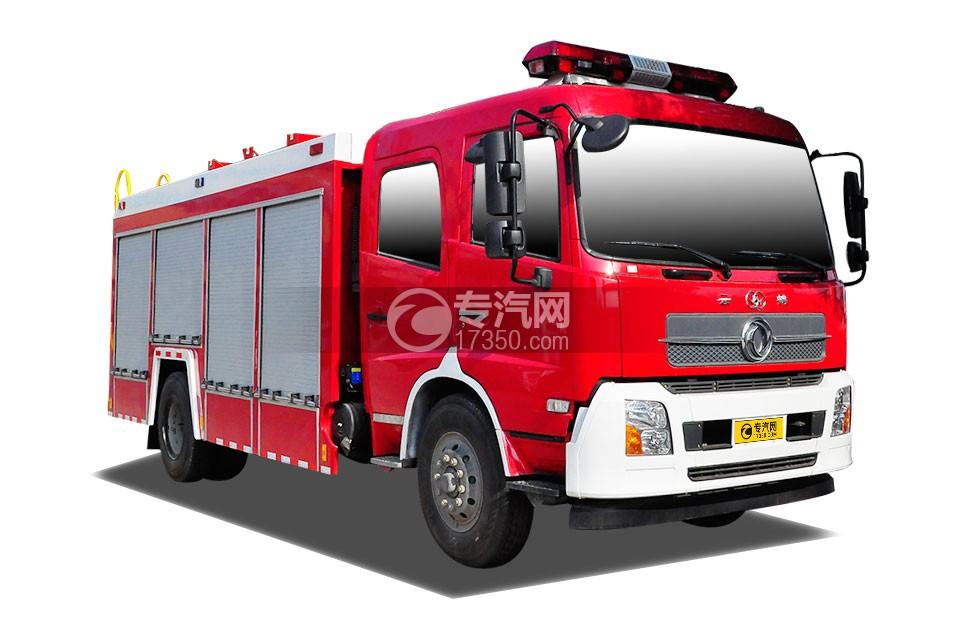 东风天龙单桥泡沫消防车